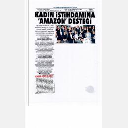 POSTA İZMİR- KADIN İSTİHDAMINA AMAZON DESTEĞİ